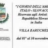 """RASSEGNA """"I GIORNI DELL'AMICIZIA ITALO-SLOVACCA"""""""