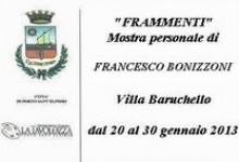 MOSTRA PERSONALE DI FRANCESCO BONIZZONI
