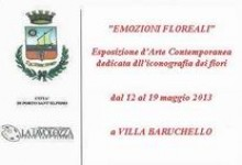 """""""EMOZIONI FLOREALI"""" – ESPOSIZIONE D'ARTE CONTEMPORANEA"""