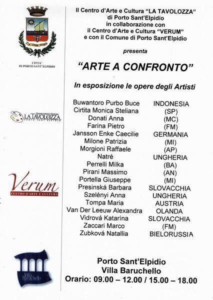 LOCANBDINA ARTE A CONFRONTO DIC.2016